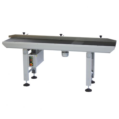 in feed conveyor for shrink machines
