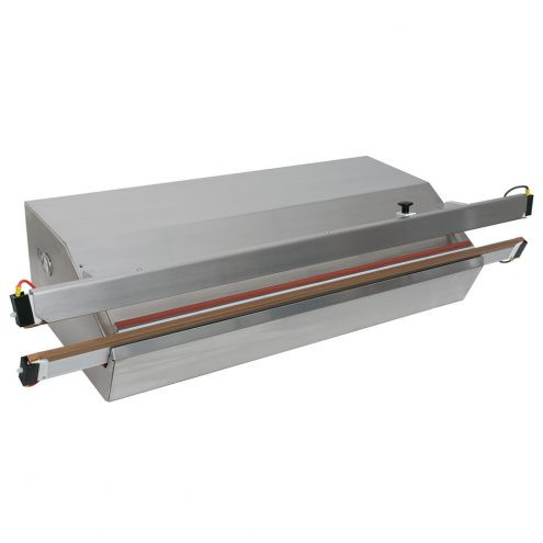 Powersealer with knife